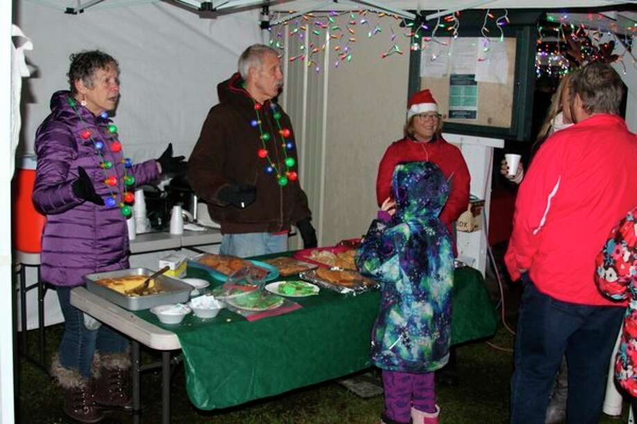 During the opening night event for Sparkle in the Park, which is Saturday, there will be tailgate chili, coffee, hot chocolate and cookies, compliments of the Bear Lake community. (News Advocate file photo)