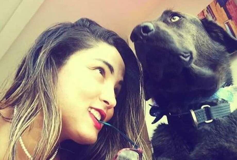 Alessandra Schweers and her dog Kota Photo: Courtesy Photo