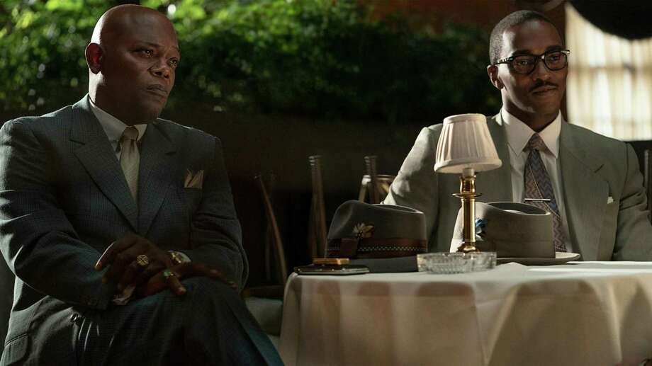 Samuel L. Jackson and Anthony Mackie in 'The Banker' Photo: Apple TV+, HO / TNS / Apple TV+