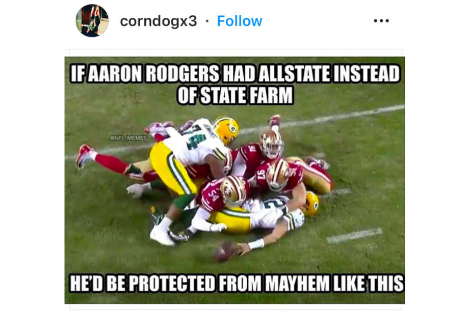 The best memes from the 49ers win and Raiders loss during NFL Week 12 Photo: Instagram