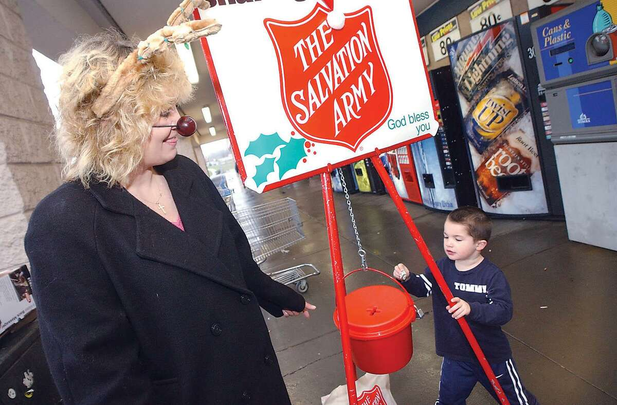 The Salvation Army has come up with a way to make donations electronically at their kettles.