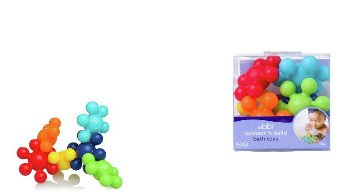 Ubbi Connecting bath toys were called out by the 2019 Trouble in Toyland report for having small parts that young children can choke on.