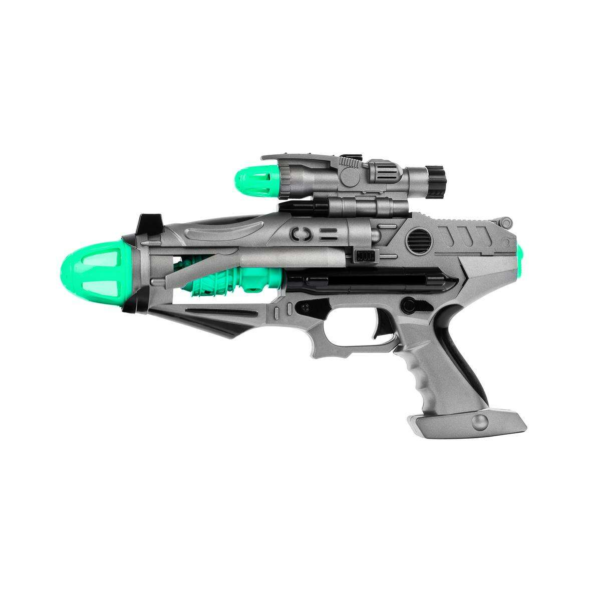 Loud toys, such as blaster guns like this one, were called out as a hazard in the 2019 Trouble in Toyland report.