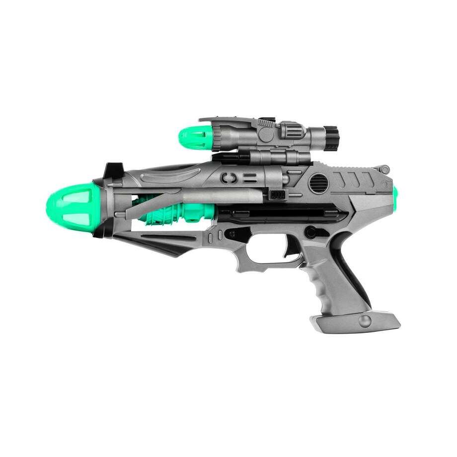Loud toys, such as blaster guns like this one, were called out as a hazard in the 2019 Trouble in Toyland report. Photo: ConnPIRG Education Fund / Contributd
