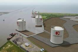 Houston liquefied natural gas company Commonwealth LNG is seeking permission from the Federal Energy Regulatory Commission to build an export terminal at the mouth of the Calcasieu Ship Channel along the Gulf of Mexico in Louisiana.