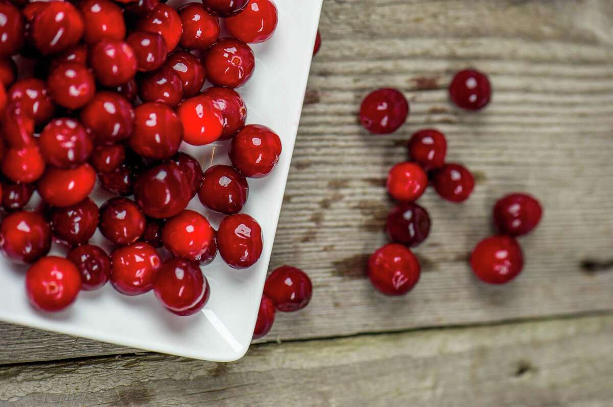 Cranberries add a festive touch to the holidays.