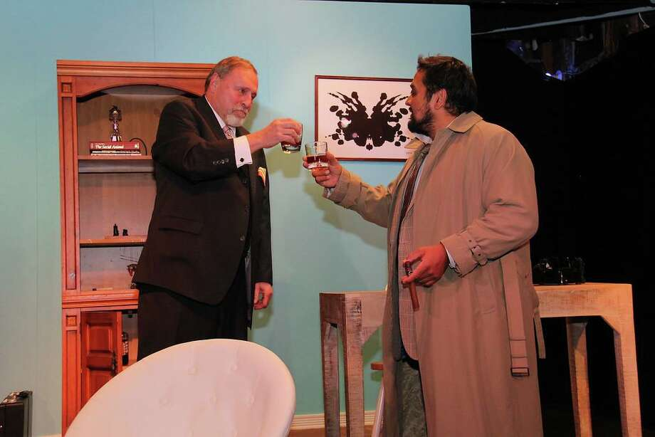 """Prescription: Murder, A Columbo Mystery"" runs through Dec. 7 at the Town Players Little Theatre in Newtown. Photo: Town Players/ Contributed Photo"