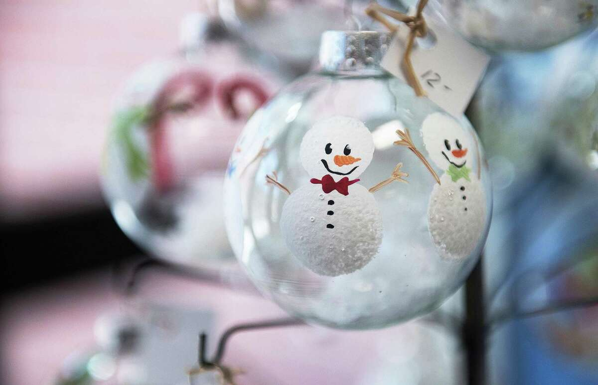 A holiday orament from Lisa Defeo The Ridgefield Woman's Club Craft Fair on Saturday 23, November 2019 in Ridgefield, Conn. A holiday orament from Lisa Defeo The Ridgefield Woman's Club Craft Fair on Saturday 23, November 2019 in Ridgefield, Conn.