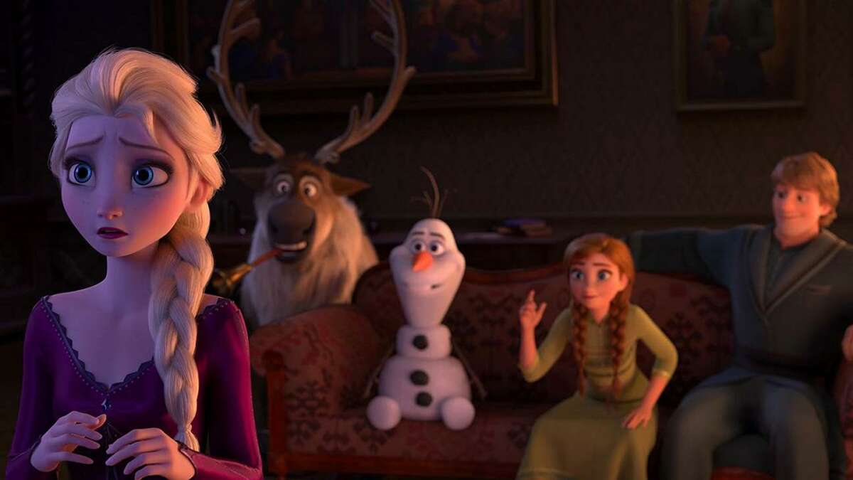 Frozen 2 is playing at Ridgefield's Prospector Theater.