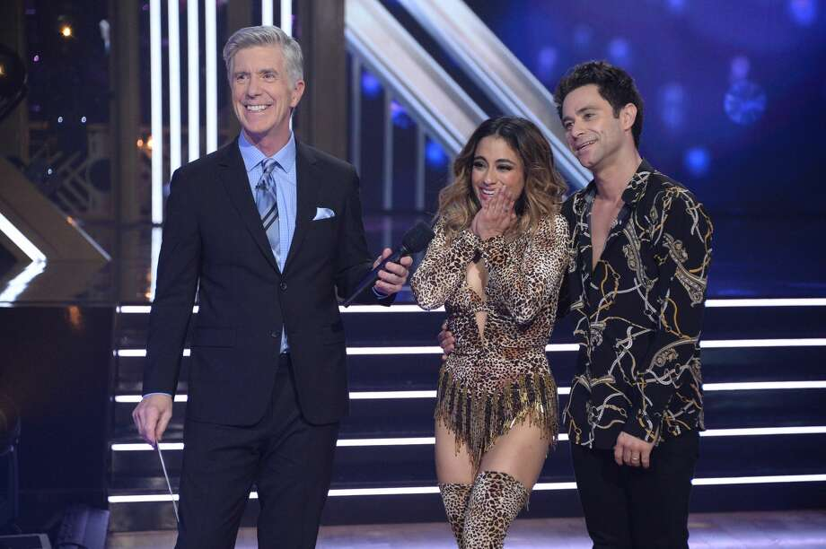 """San Antonio's Ally Brooke and Sasha Farber are one of four couples competing on the finale of Monday night's """"Dancing with the Stars"""" Photo: Getty Images  / 2019 American Broadcasting Companies, Inc."""