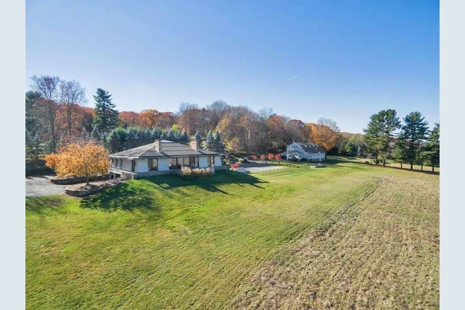 A four-lot resubdivision on a little more than 11 acres at 805 North Salem Road were accepted by the Planning and Zoning Commission last week. Photo: ColdwellBanker.com