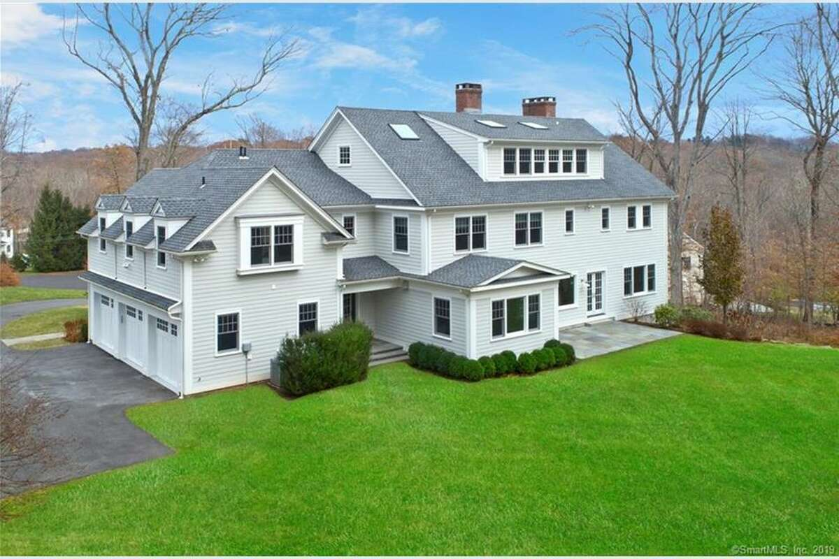 The home at 71 Welles Lane, where Jennifer Dulos lived before she disappeared, is on the market in New Canaan for $2.9 million. The address has been changed from 69 Welles Lane.