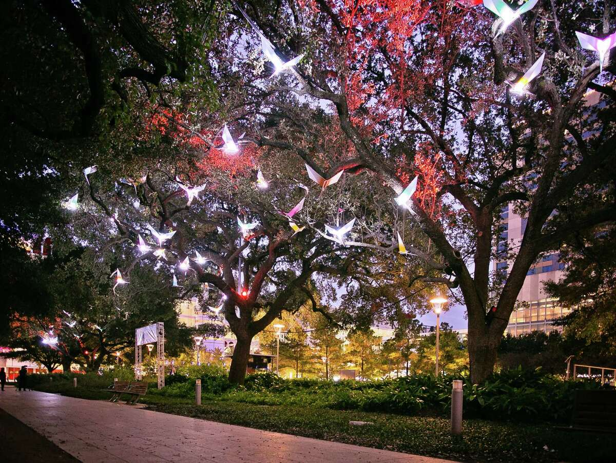 The Paloma installation at Discovery Green