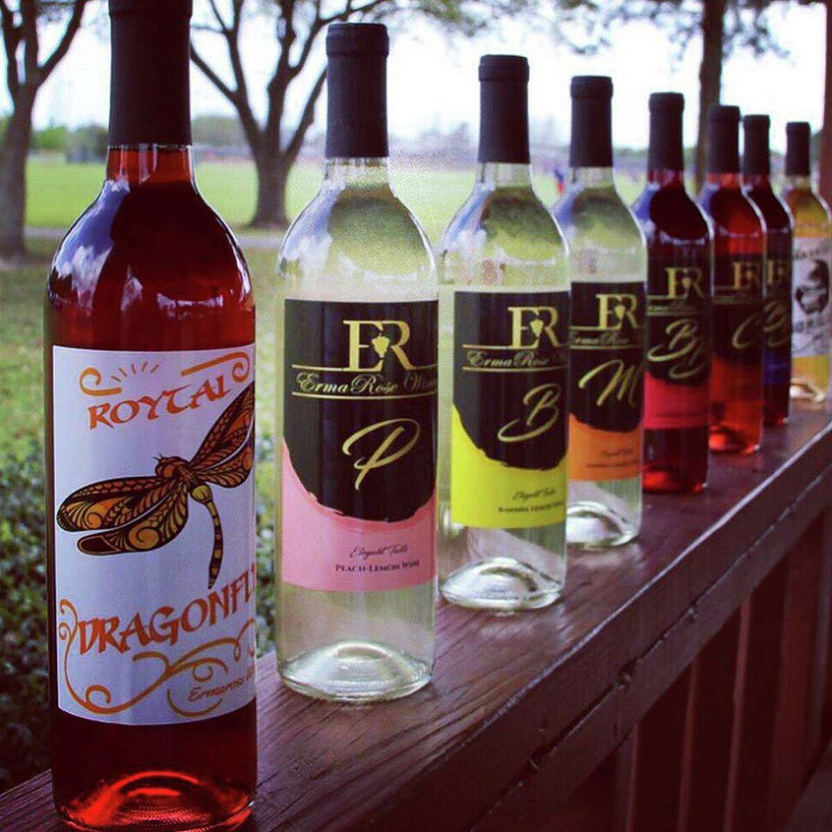 ErmaRose Winery won eight awards at the Houston Rodeo Uncorked! Wine Competition.