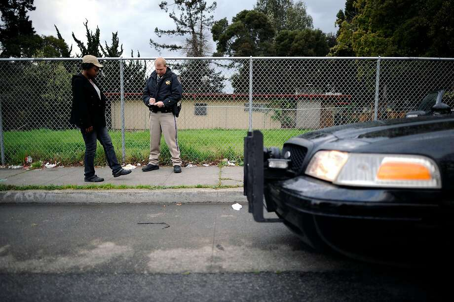 The California Supreme Court has decided that a person not being in possession of a driver's license doesn't give police the authority to search the vehicle. Photo: Michael Short / Special To The Chronicle 2013