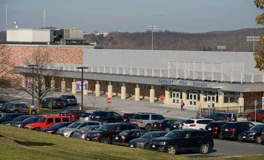 File photo of Danbury High School. Monday, November 25, 2019, in Danbury, Conn. Photo: H John Voorhees III / Hearst Connecticut Media / The News-Times