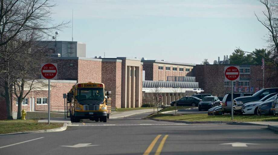 File photo of Danbury High School Monday, November 25, 2019, in Danbury, Conn. Photo: H John Voorhees III / Hearst Connecticut Media / The News-Times