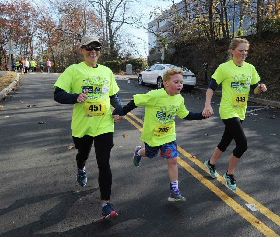 The Greenwich Alliance for Education will holds its annual Turkey Trot on Saturday morning. All proceeds benefit Greenwich Public School programs. Runners can register online at www.greenwichalliance.org and costs $35 per adult, $40 on race day, and $15 for children 14 and younger. Photo: Hearst Connecticut Media File Photo / Greenwich Time