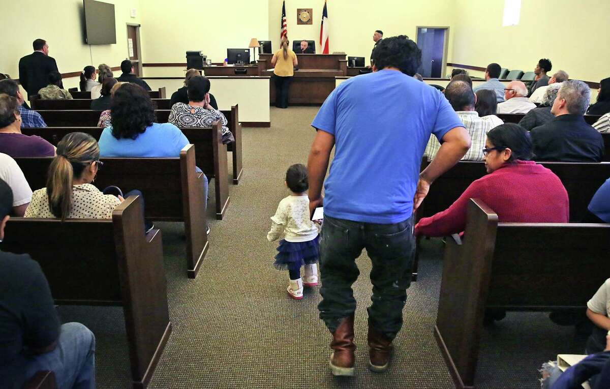 Judge Ciro Rodriguez presides over the eviction court for Bexar County Precinct 1.