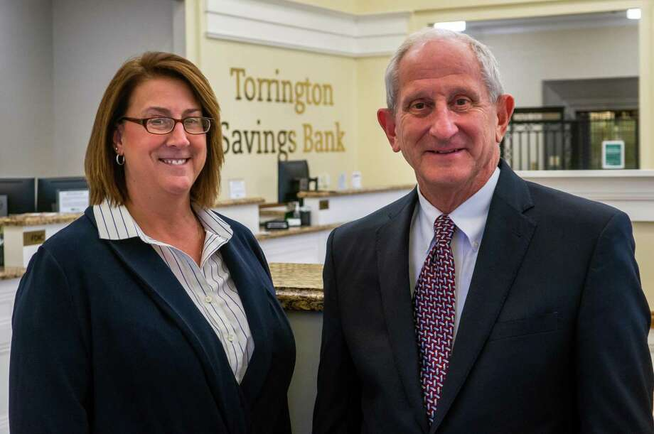 Torrington Savings Bank recently announced the appointment of Lesa A. Vanotti, above left, as the institution's new president and COO. She will be the 14th president in October 2020.  The announcement is part of a 9-month transition plan, that will see John E. Janco Sr., above, who has been president and CEO since 2014, retire as CEO in September 2020. Photo: Torrington Savings Bank / Contributed Photo