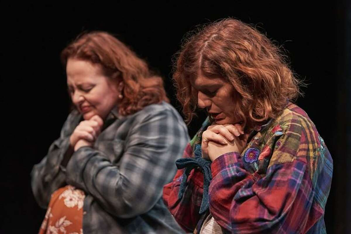 "Tamarie Cooper and Tasha Gorel in ""Baby Screams Miracle,"""