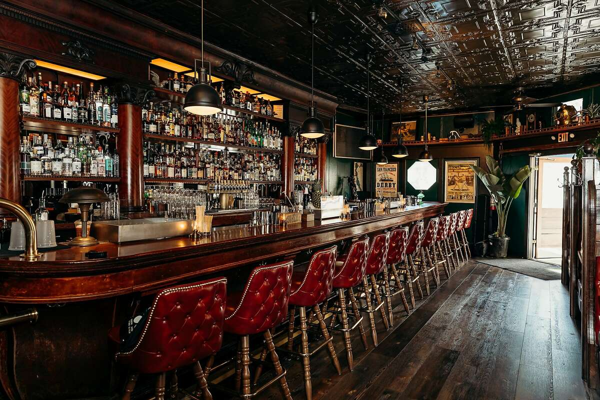 Shots of California Gold, a new cocktail bar in San Rafael from Bar Star Isaac Shumway, opening Nov. 26, 2019.