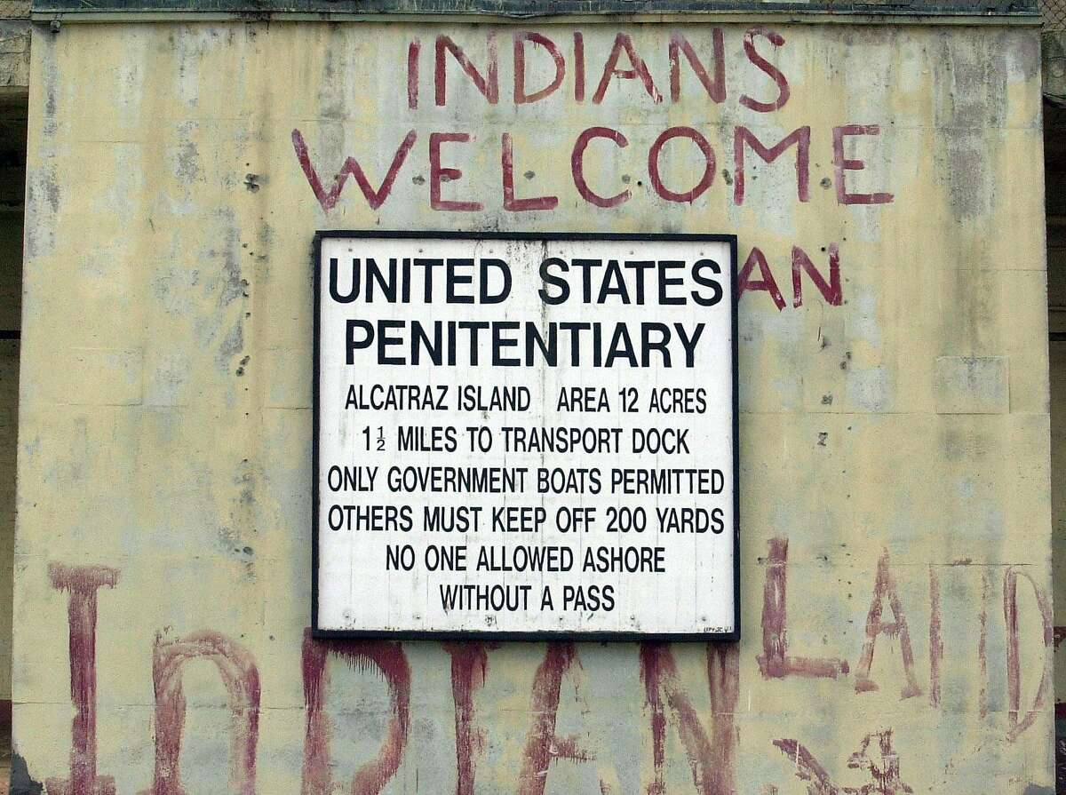 CITADEL8-C-20NOV01-MT-PC Besides its reputation as a federal prison Alcatraz' storied history included an indian occupation in the early 1970's and served as an army fort in the 1800's. PAUL CHINN/S.F. CHRONICLE