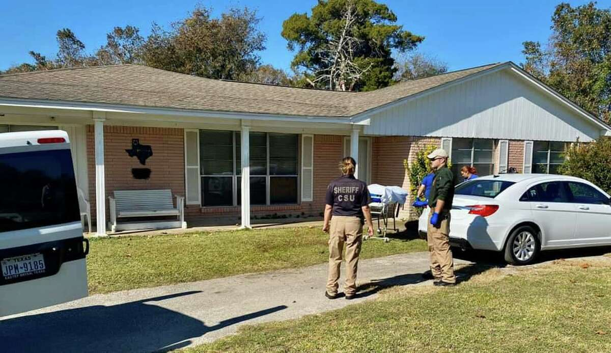 Christine Rollins, 58, was found dead Sunday, Nov. 24, outside a home in Anahuac in the 4000 block of State Highway 61, according to the Chambers County Sheriff's Office.