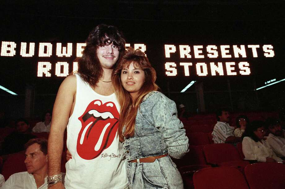Scenes inside and outside the Astrodome for the Rolling Stones concert, Nov. 8, 1989. Photo: John Davenport, Houston Chronicle