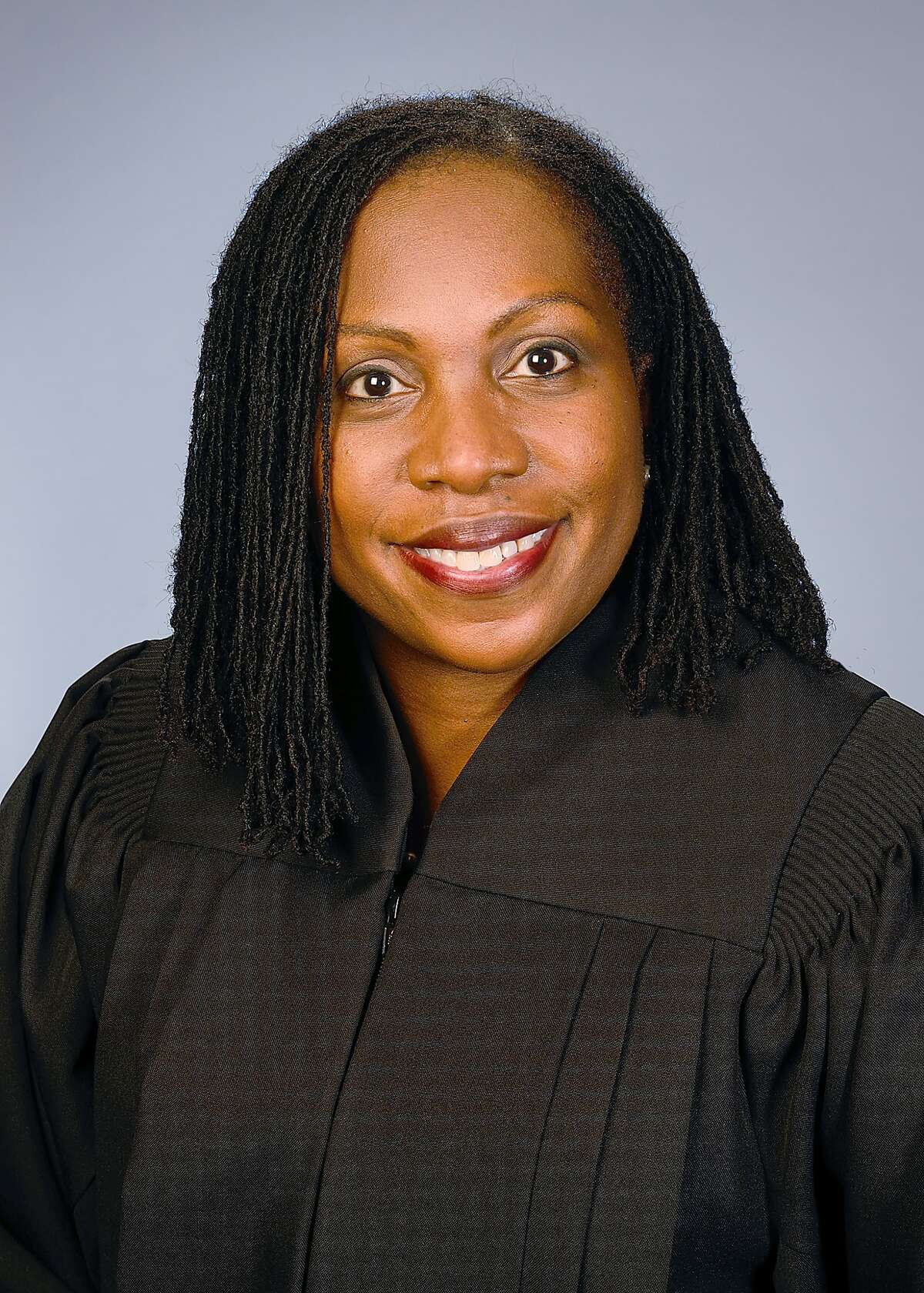 This photo provided by the U.S. Court of Appeals District of Columbia Circuit via Robin Reed Photography shows Judge Ketanji Brown Jackson. If Ketanji Brown Jackson were nominated and confirmed to the U.S. Supreme Court, she would make history several times over. She'd be the court's first black female justice.