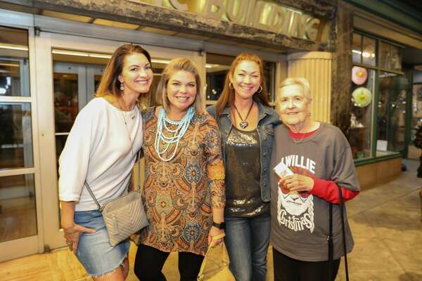 San Antonians flocked to the Majestic Theatre to see country legend Willie Nelson Monday Nov. 25, 2019.