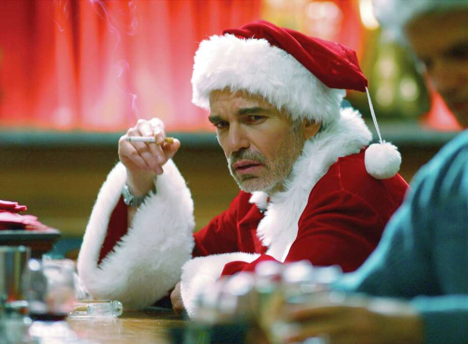 """""""Bad Santa"""" screens at Market Square Park on Wednesday Photo: Anonymous, HO / AP / COLUMBIA TRISTAR"""