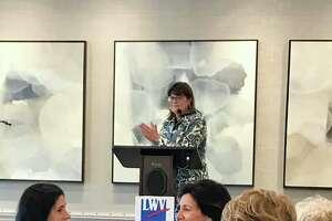 The League of Women Voters of Darien is celebrating 100 years with a speaker series. LWV member Susan Vogel is speaking.