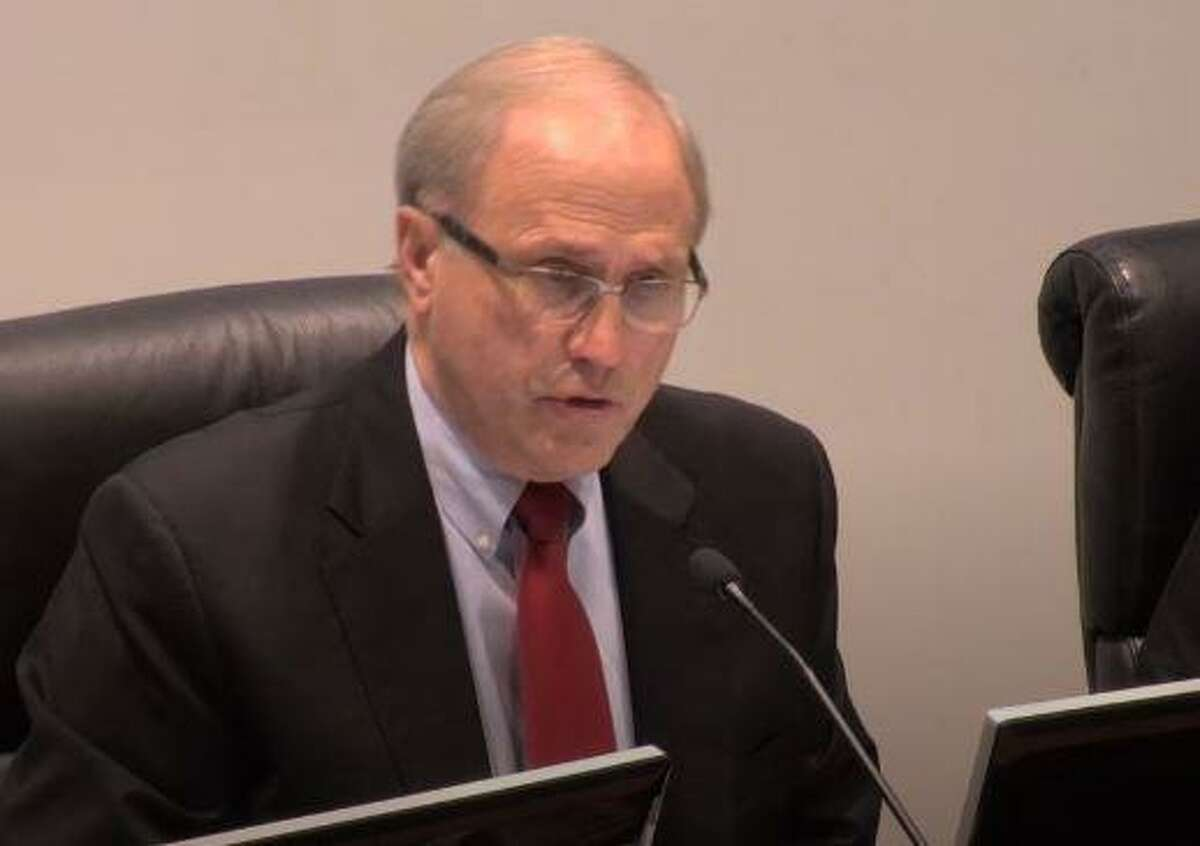 Don Norrell, the president and general manager of The Woodlands, took extensive time during the Oct. 23, 2019, incorporation planning meeting to discuss at length new analysis of regional participation agreements - also known as RPAs - between The Woodlands and the cities of Houston and Conroe. Norrell retires after 14 years with the township on Sept. 5.