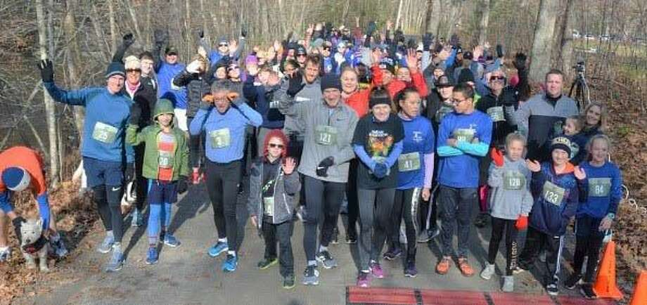 Glenholme School in Washington recently raised $4,000 for scholarships through its sixth annual 5K Run for Autism held Nov. 10. Photo: Courtesy Of Glenholme School / The News-Times Contributed