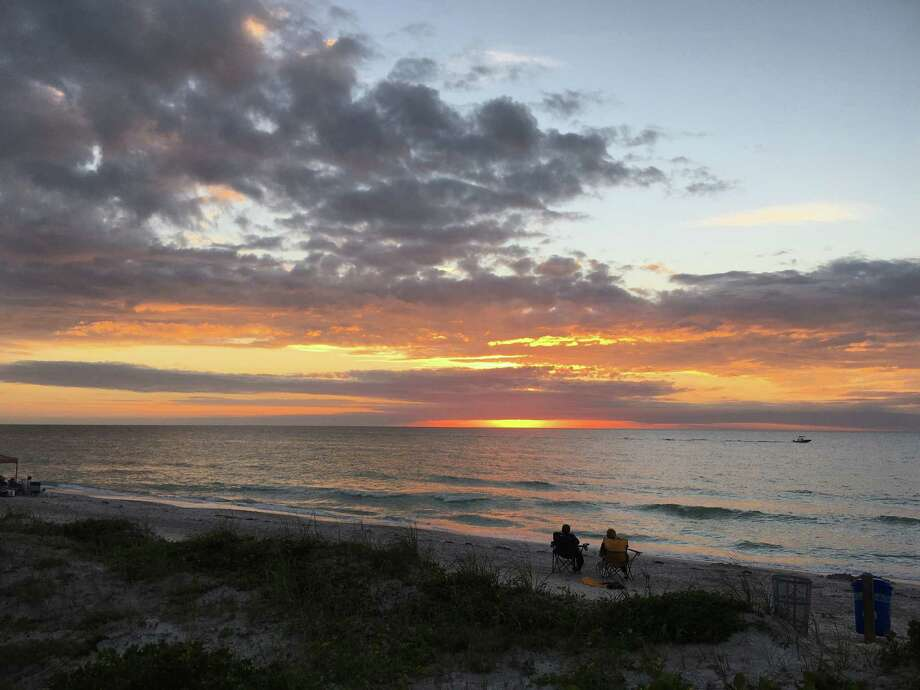 Sunset at 15th Avenue at Indian Rocks Beach. Photo: Photo For The Washington Post By Diane Daniel / Diane Daniel