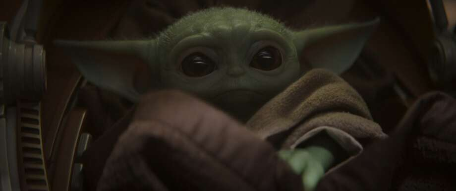 "Baby Yoda from ""The Mandalorian."" Photo: Lucasfilm"