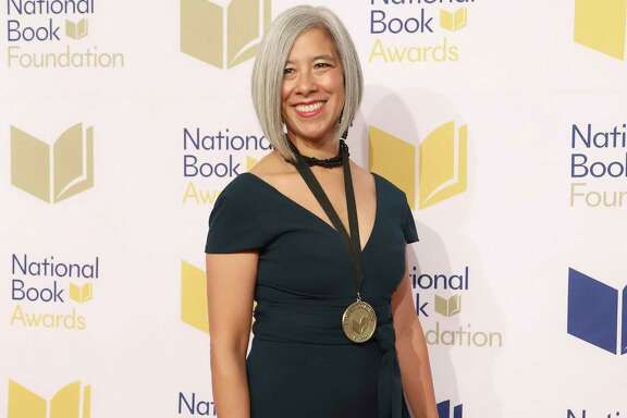 Susan Choi attends the 70th National Book Awards ceremony and benefit dinner at Cipriani Wall Street on Wednesday, Nov. 20, 2019, in New York. (Photo by Greg Allen/Invision/AP)