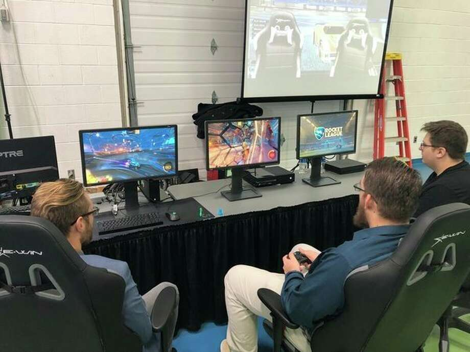 West Shore Community College students are competing in intercollegiate sports with the creation of a new eSports student organization. The WSCC eSports club is competing with other colleges and universities from across the nation in a game called Rocket League. (Courtesy photo)