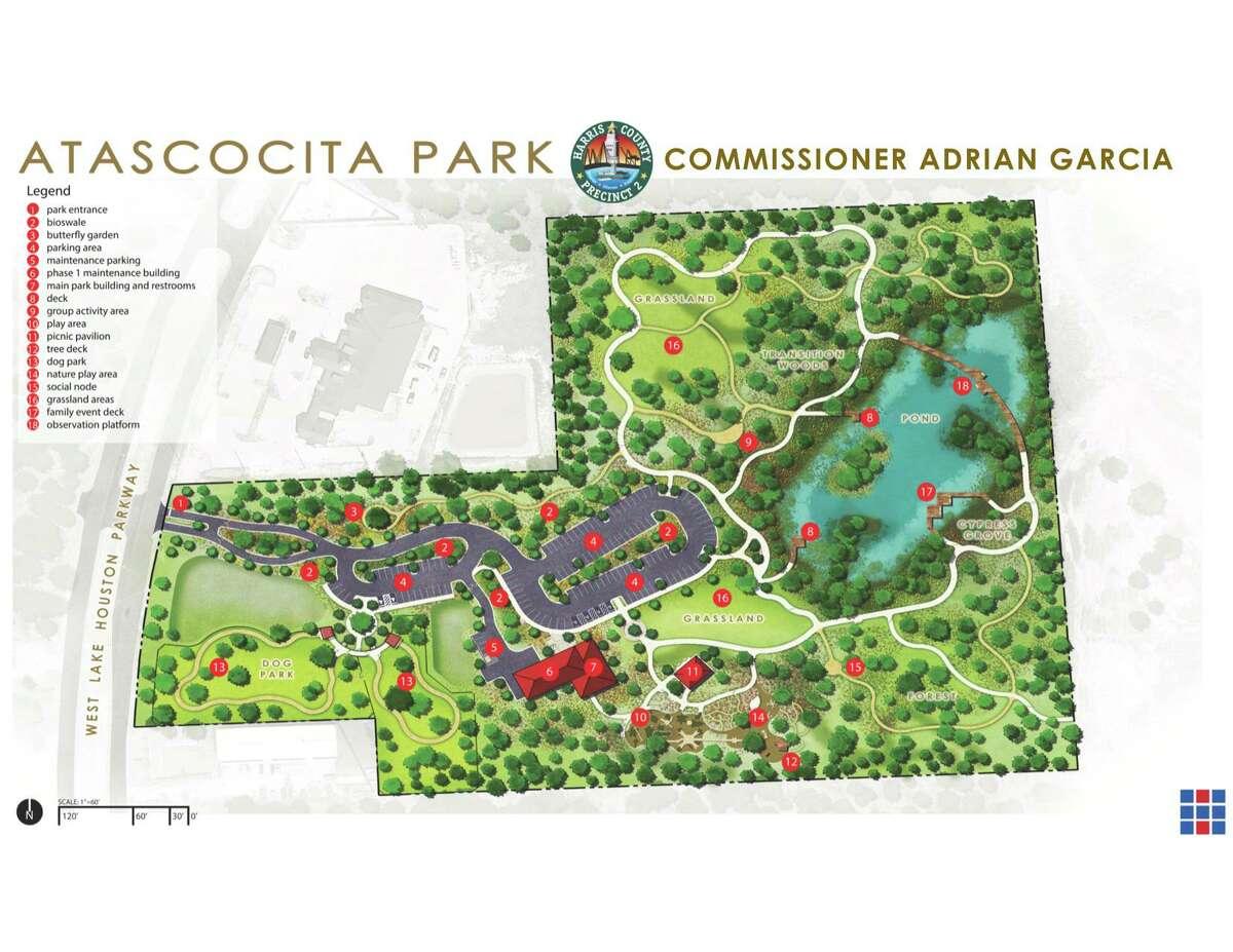 Harris County Precinct 2 is set to open the $11 million Atascocita Park June 24.