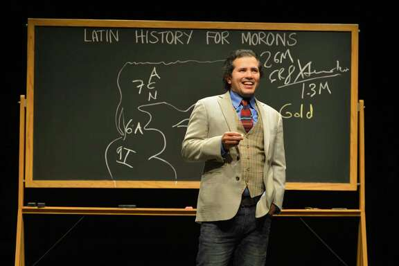 Award-winning playwright and performer John Leguizamo gives a dramatic history lesson.