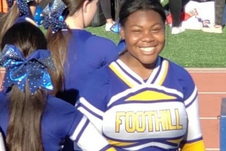 LOCAL CHEERLEADER Muna Bellot, sophomore from Foothill High School in Pleasanton will PERFORM IN THE VARSITY SPIRIT ALL-AMERICAN ORLANDO THANKSGIVING TOUR Photo: SportStars Magazine