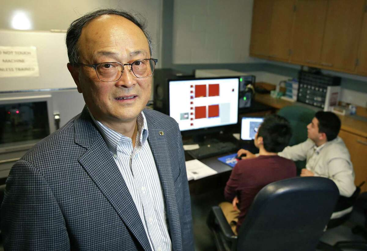 Xiaodu Wang, a professor of mechanical and biomedical engineering at the University of Texas at San Antonio, is studying a possible cause of osteoporosis fractures at the molecular level, work that is being conducted under a $2.3 million grant from the National Institutes of Health.