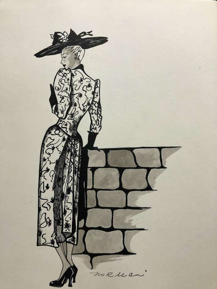 Five Points Annex Gallery, located at 17 Water St. in downtown Torrington, will open its new show, Fashion Drawings by Norman G. Bourque, on Thursday. Photo: Five Points Gallery / Contributed Photo