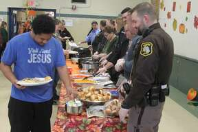 CASMAN Academy students held their annual Thanksgiving Feast on Tuesday.