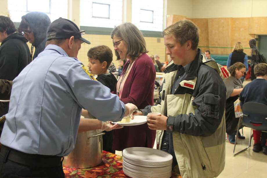 CASMAN Academy students held their annual Thanksgiving Feast on Tuesday. Photo: Ken Grabowski/News Advocate