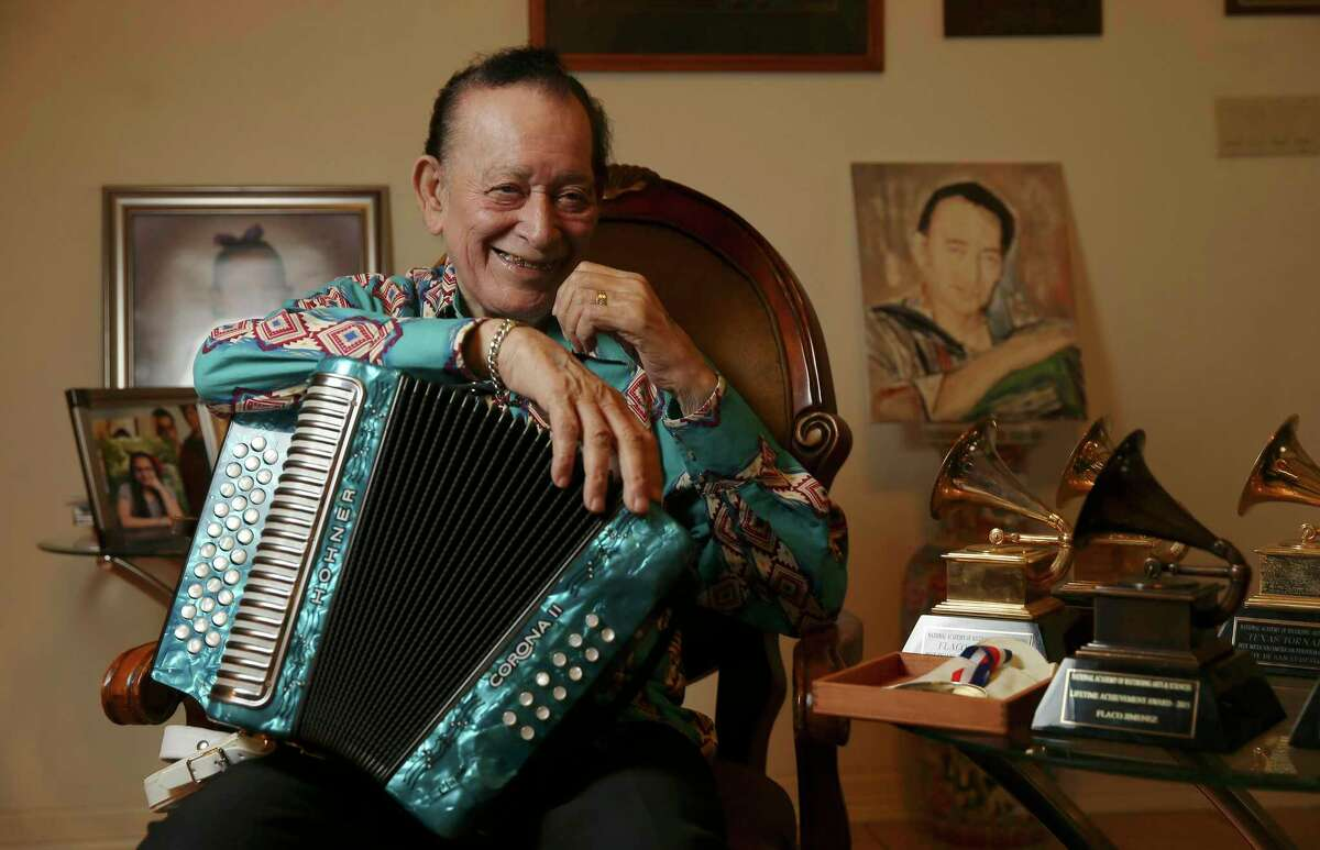 Conjunto music superstar Flaco Jimenez will among the 26 floating musical acts.