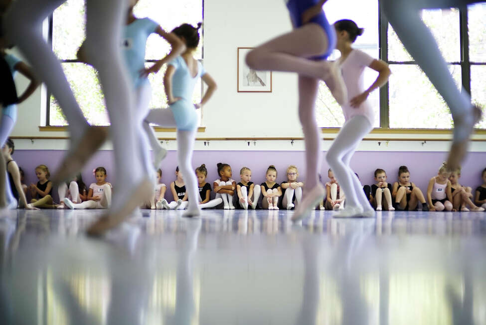 Six, seven, and eight-year-old children try out for the Albany Berkshire Ballet's nutcracker performance on Sunday, September 15, 2019, in Albany, N.Y. The Nutcracker ballet performance will take place at the Egg theater, with two shows on Saturday, December 14th, and one show on Sunday, December 15th. This is the 50th year of the ballet company, and the 45th year of their Nutcracker performance. The six through eight-year-olds were trying out for the parts of clowns and mini-mice in the ballet. Each year 150 to 200 children from ages four years old and up try out for the various roles. (Paul Buckowski/Times Union)
