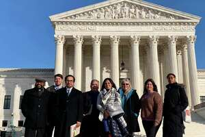 Members of the Rio Grande International Study Center visited Washington, D.C. last week to meet with lawmakers as another border wall fight approaches.