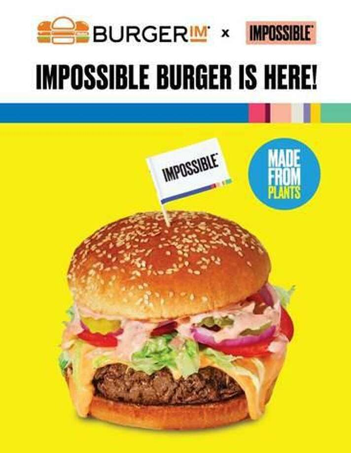 BurgerIM, an Israeli fast-food chain with a location in Parkdale Mall, is celebrating the launch of its partnership with Impossible Foods with free Impossible Burgers on Black Friday. Photo: Courtesy Of BurgerIM